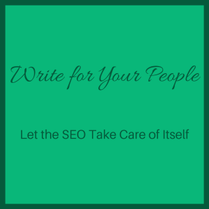 Write for your people